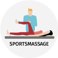 sportsmassage behandling icon