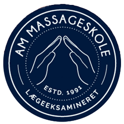 AM Massageskole logo