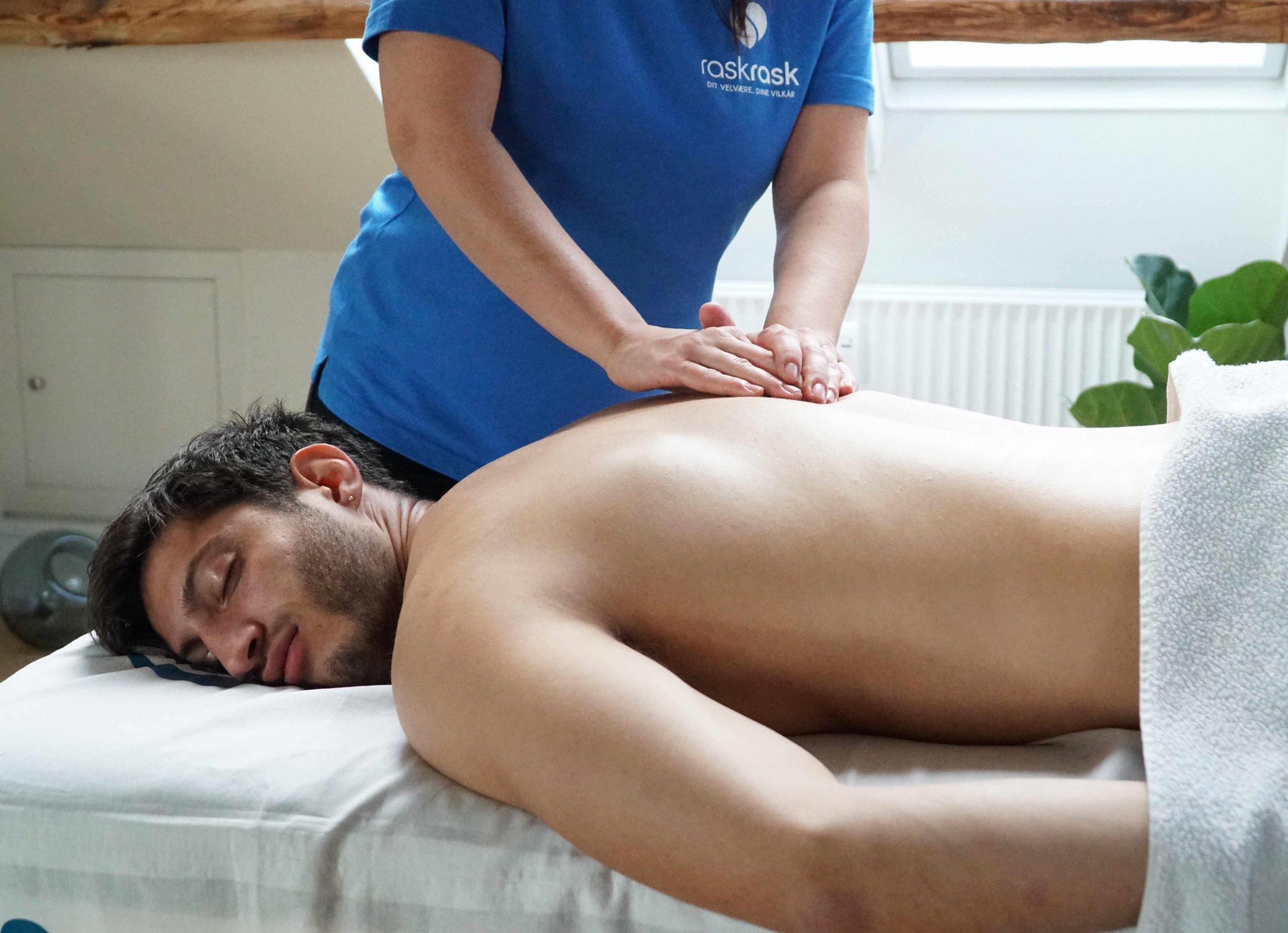 skulder massage