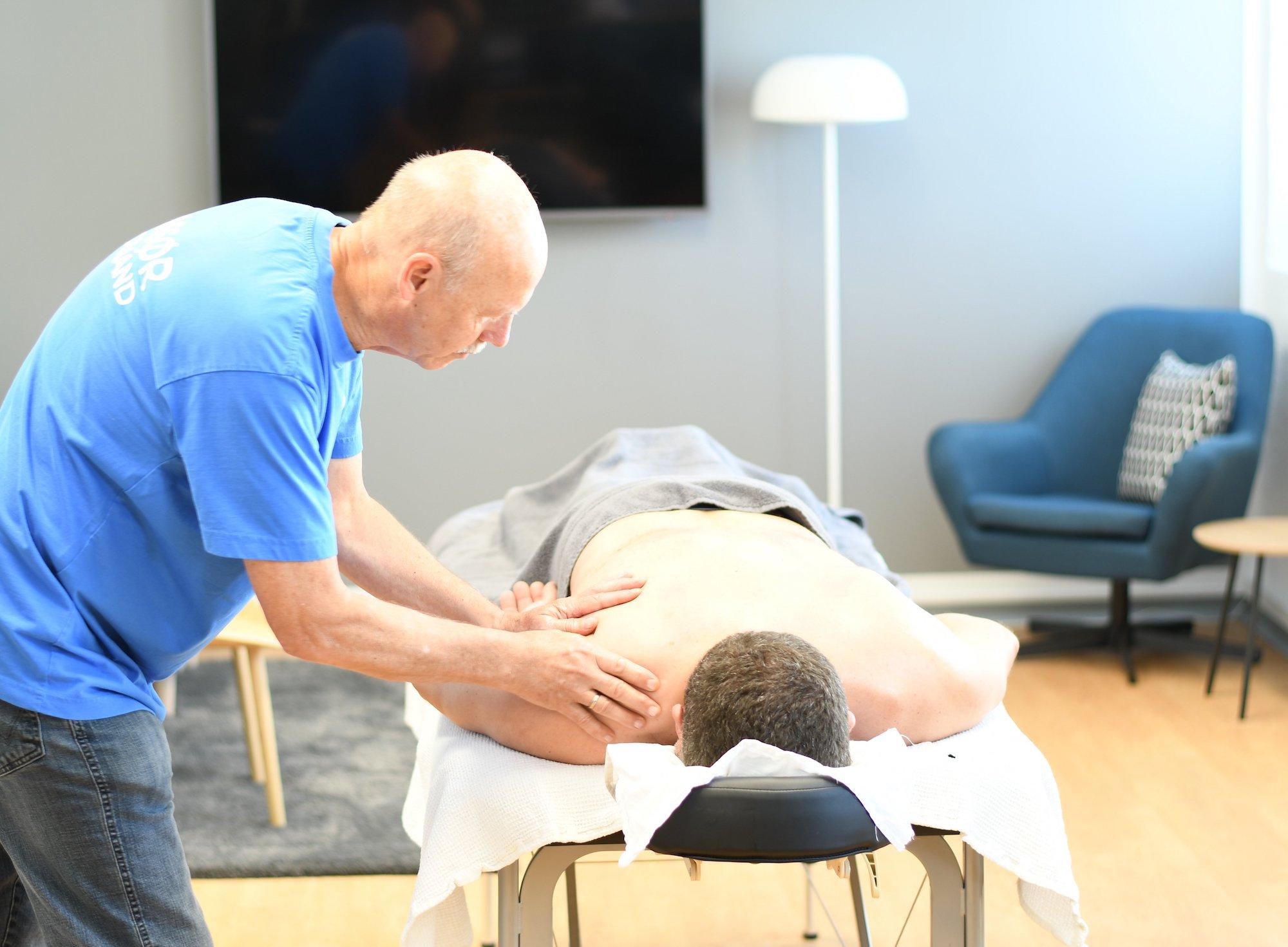 massage efter behandlig hero img